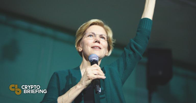 Elizabeth Warren le dice a la SEC que discuta la regulación criptográfica