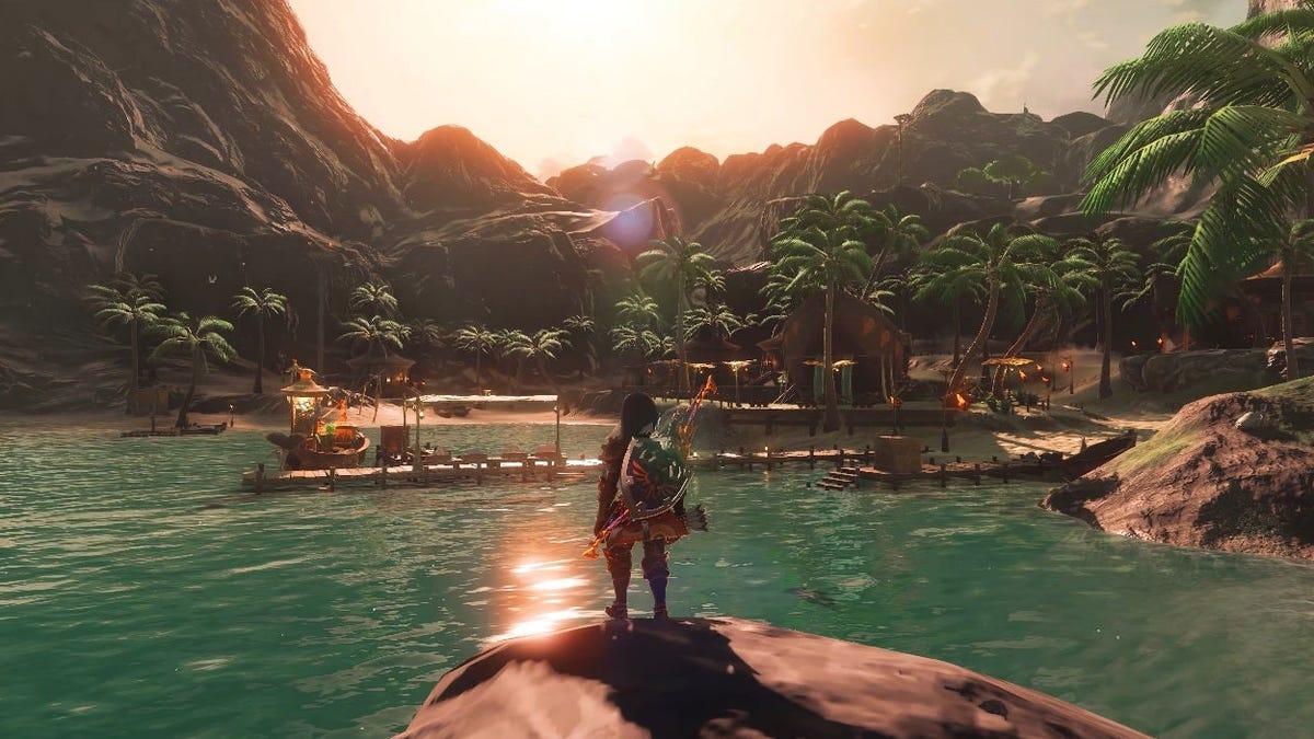 Este mod ofrece ray tracing y 8K al Zelda: Breath Of The Wild