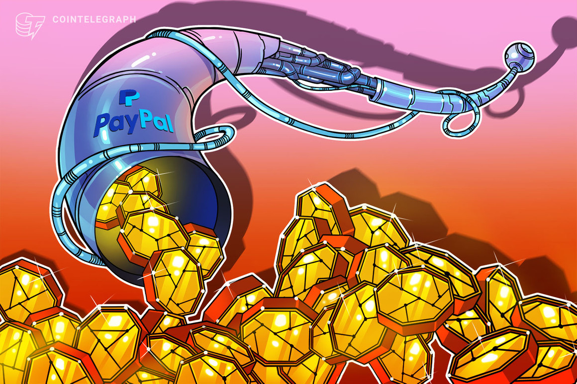 PayPal habilita los servicios de criptomonedas para sus usuarios del Reino Unido