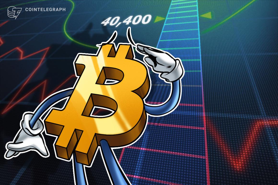 Los analistas identifican los USD 40,000 como el nivel de decisivo para el precio de Bitcoin
