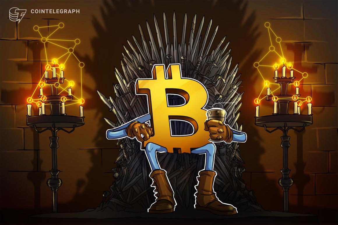 Bitcoin le «recordará a todo el mundo quién es el rey», dice un trader mientras el precio de BTC cae a 44,000 dólares