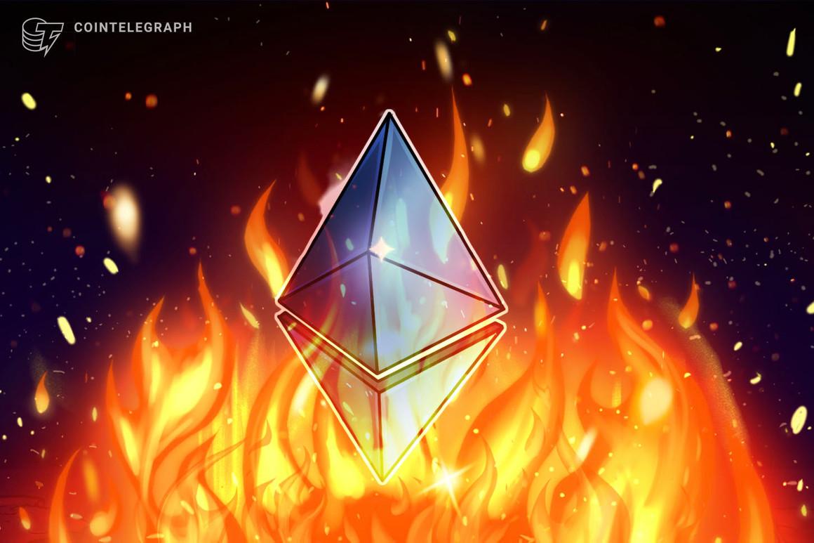 La red Ethereum quema 395,000 ETH por hora tras la actualización London