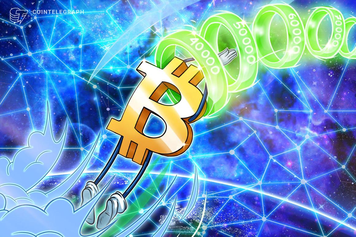 La carrera de Bitcoin hacia los USD 50,000 al rojo vivo gracias al continuo respaldo institucional
