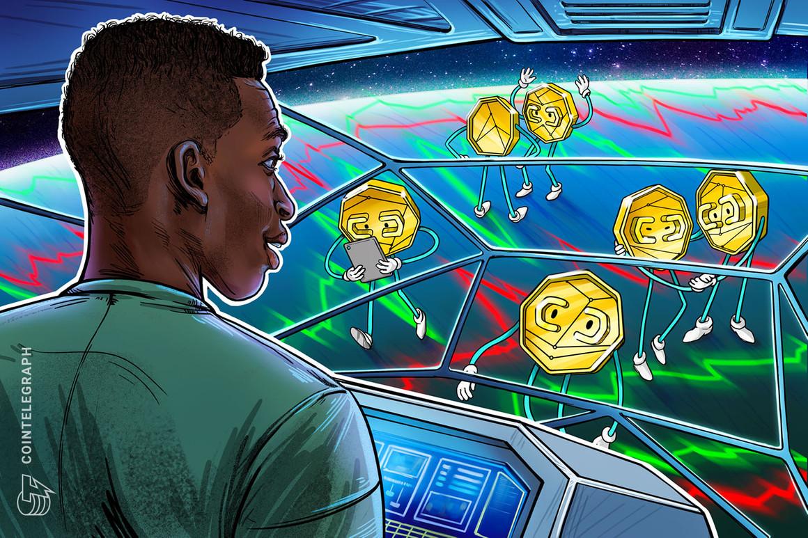 Las altcoins y los tokens DeFi al alza mientras el precio de Bitcoin se tambalea en los USD 40,000