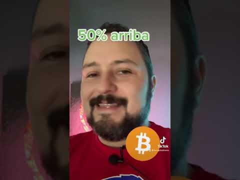 50% Arriba…. Increible vamos Bitcoin!!!  #bitcoin #shorts #short