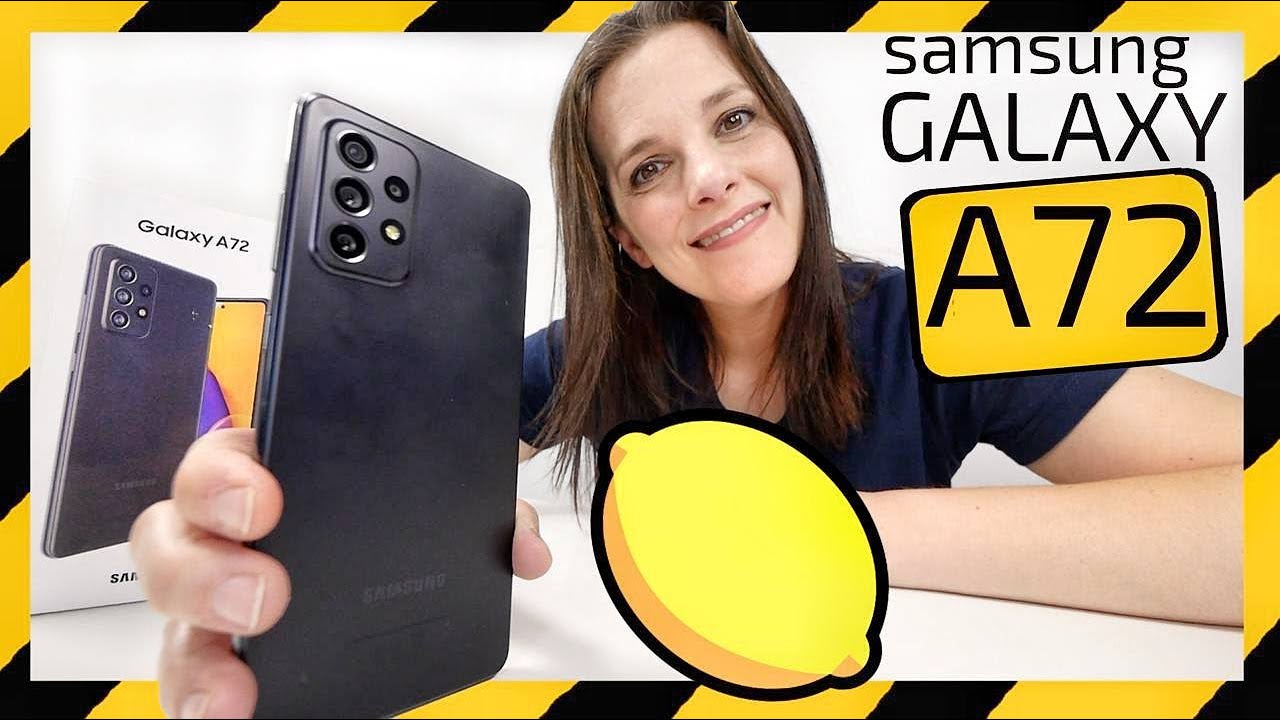 Samsung Galaxy A72 Unboxing -¿LIMÓN o LIMONADA?