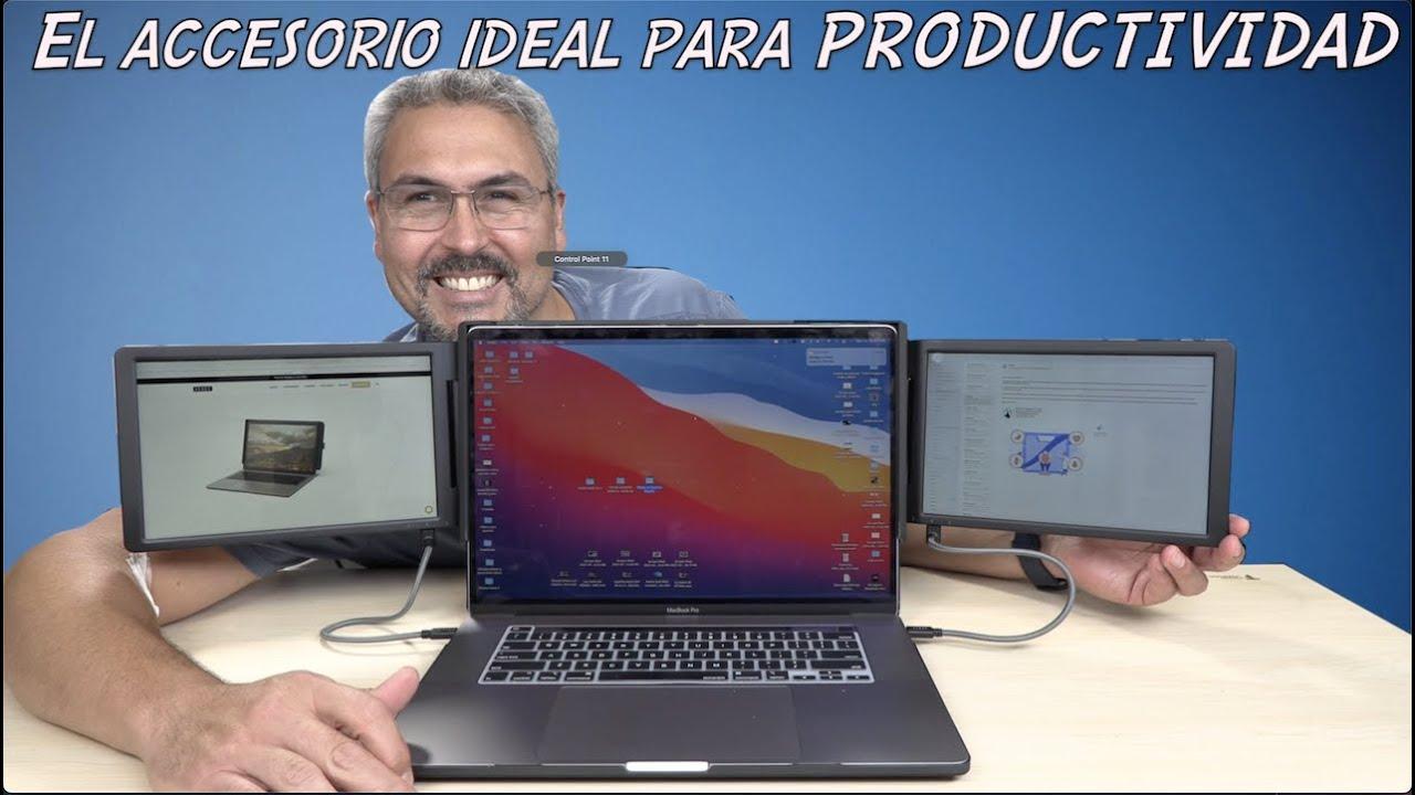 Convierte tu Laptop en una maquina de productividad Xebec Tri Screen 2