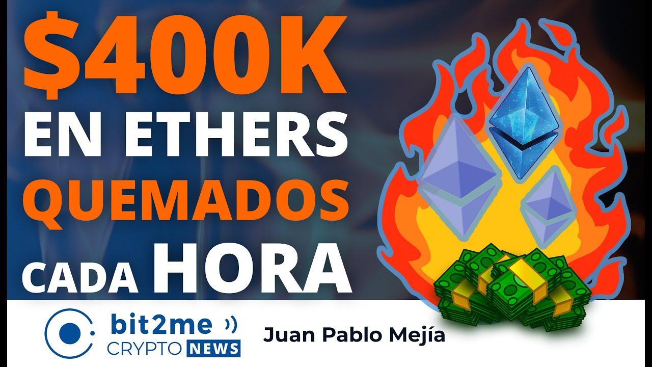 🔵🔥 400K en Ethers QUEMADOS cada HORA – NOTICIAS CRIPTOMONEDAS