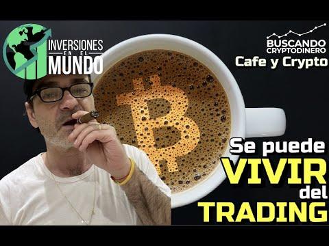 ☕️ Se puede VIVIR del TRADING?? Con Sergio de Inversiones en el Mundo: Cafe y Crypto