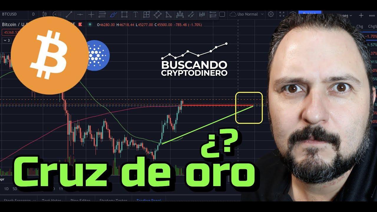 🙀 Bitcoin ➤ Cruz de Oro??? + 4 monedas y Rifa de Litecoin !!!
