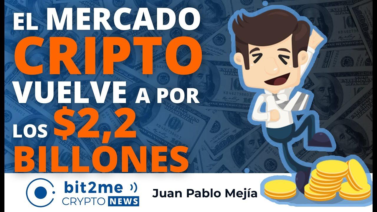🔵 💸 El mercado CRIPTO vuelve a por los $2 BILLONES – NOTICIAS CRIPTOMONEDAS HOY