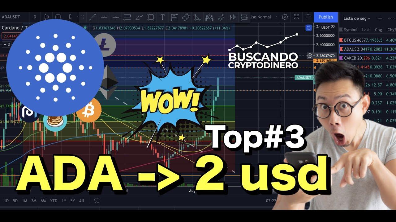 """🔵 Cardano """"ADA"""" en 2 usd… WOW !!! + 13 monedas y 2 Rifas !!"""