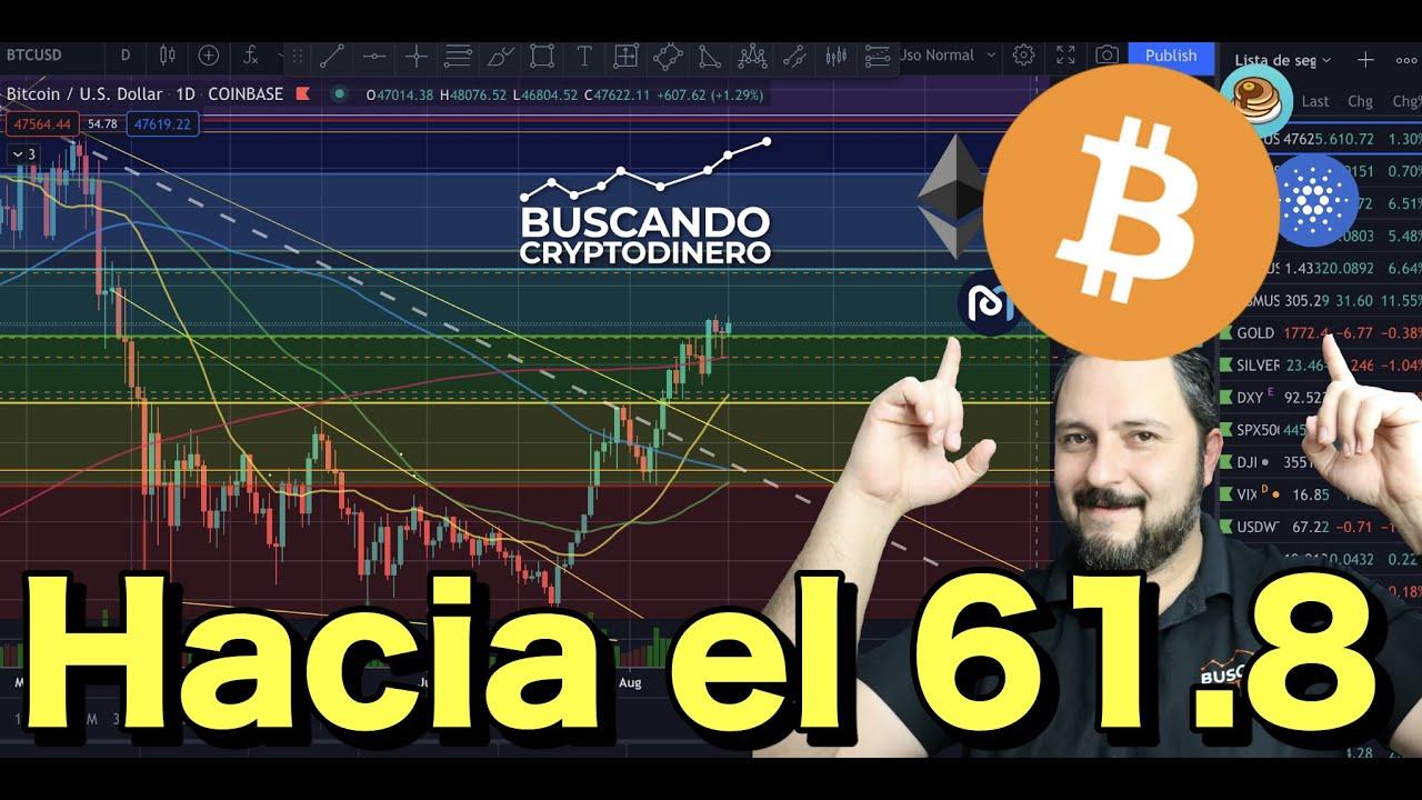 Bitcoin en camino hacia el Golden Pocket !!! + 8 monedas y Rifa de Litecoin !!