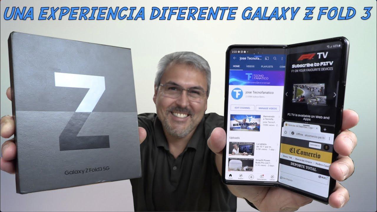 GALAXY Z FOLD 3 una experiencia ÚNICA – UNBOXING primeras impresiones