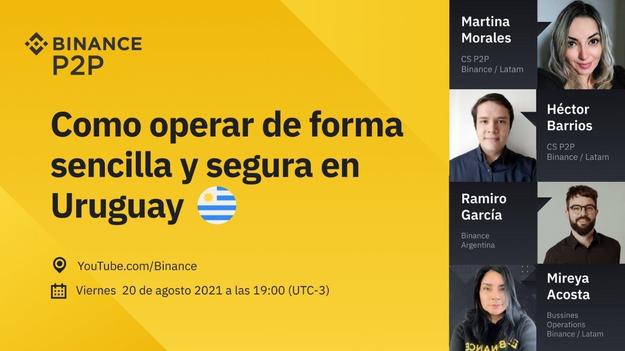 Binance P2P: Cómo operar de manera sencilla y segura en Uruguay