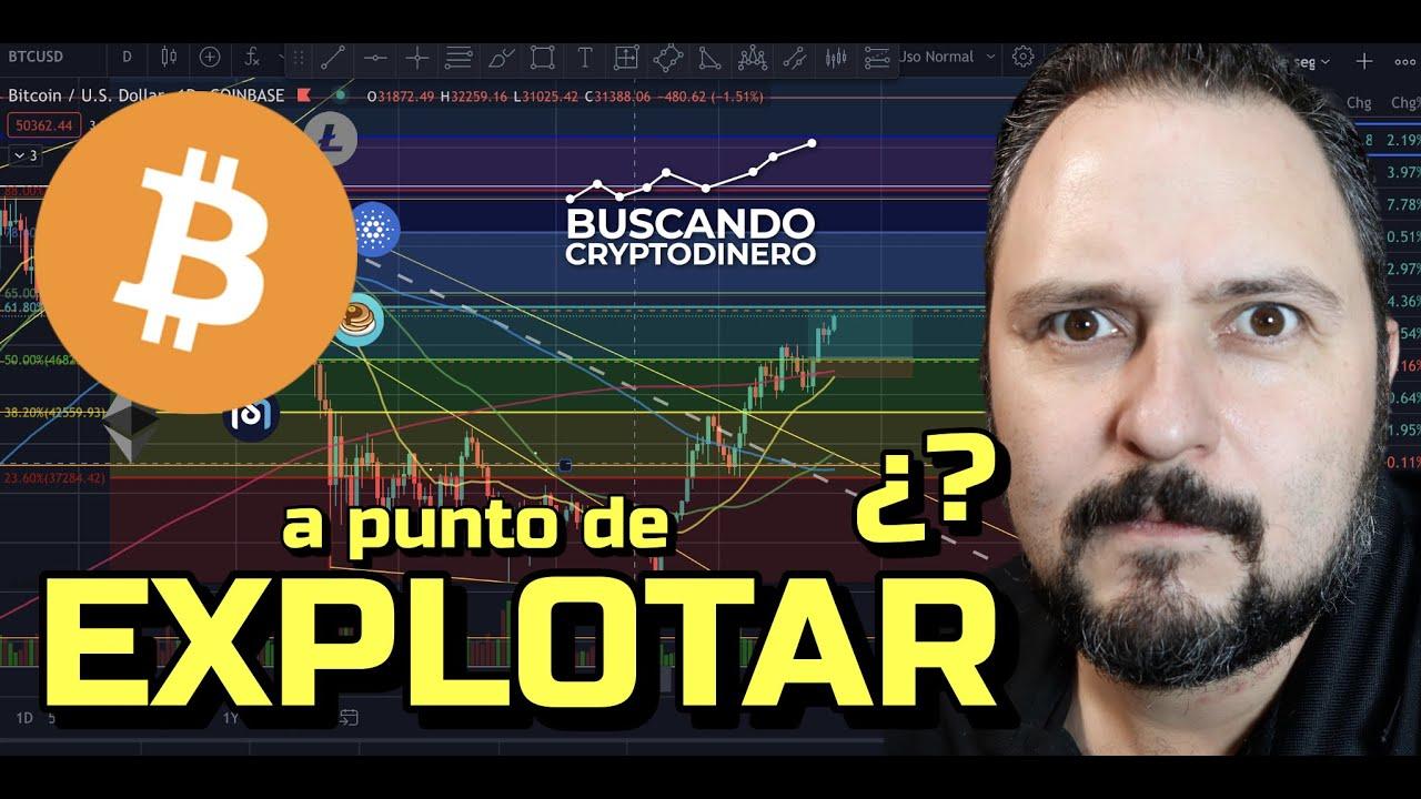 🟢 Bitcoin ¿a punto de EXPLOTAR? + 15 monedas y Rifa de Litecoin !!!