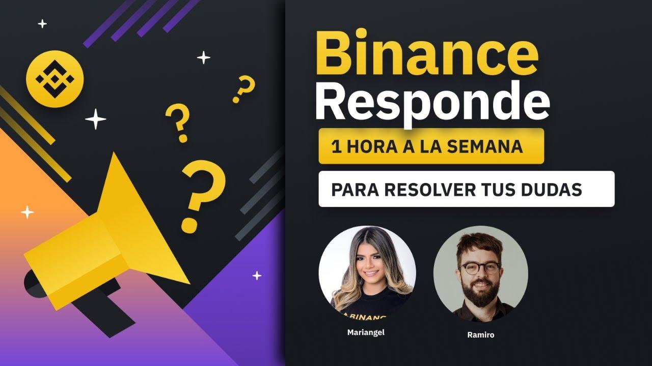#BinanceResponde   Segunda edición