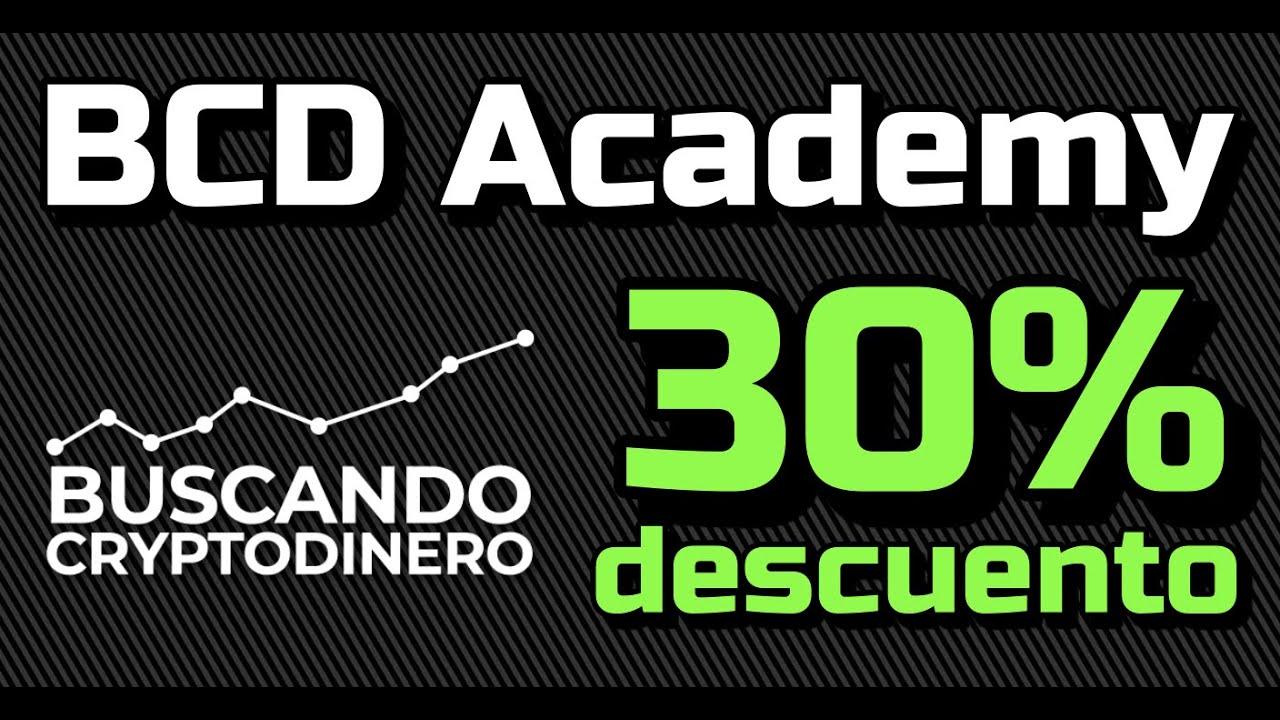 🏷 BCD Academy CUPON de 30% Descuento en Agosto 2021 !!!
