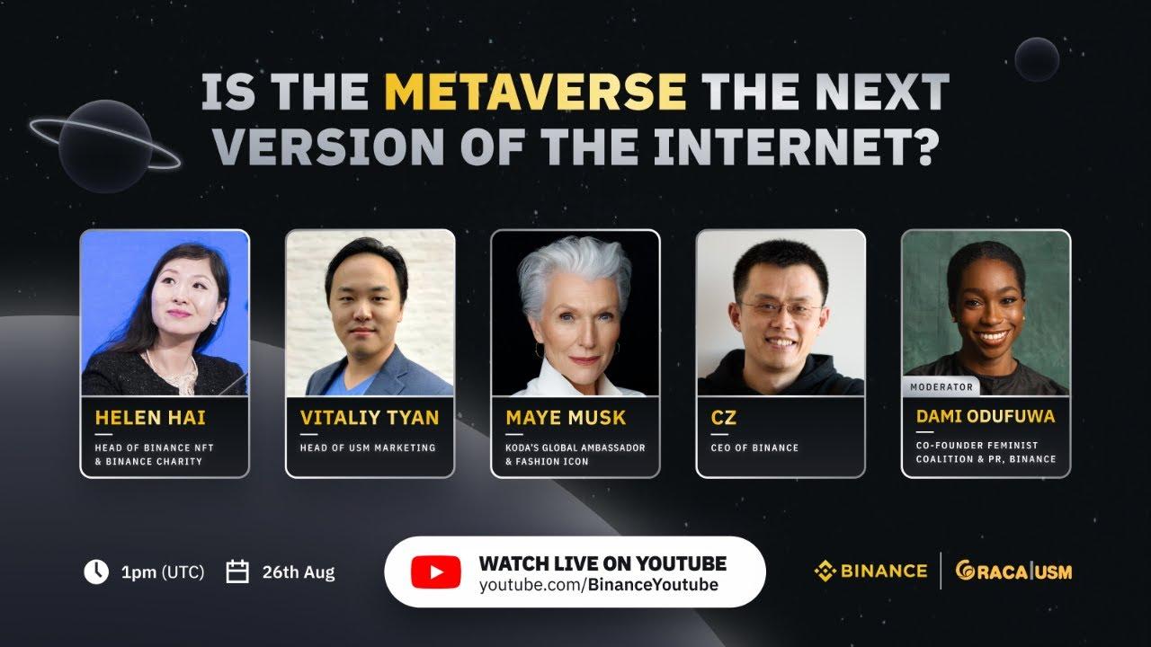 Metaverse Panel with Maye Musk & CZ