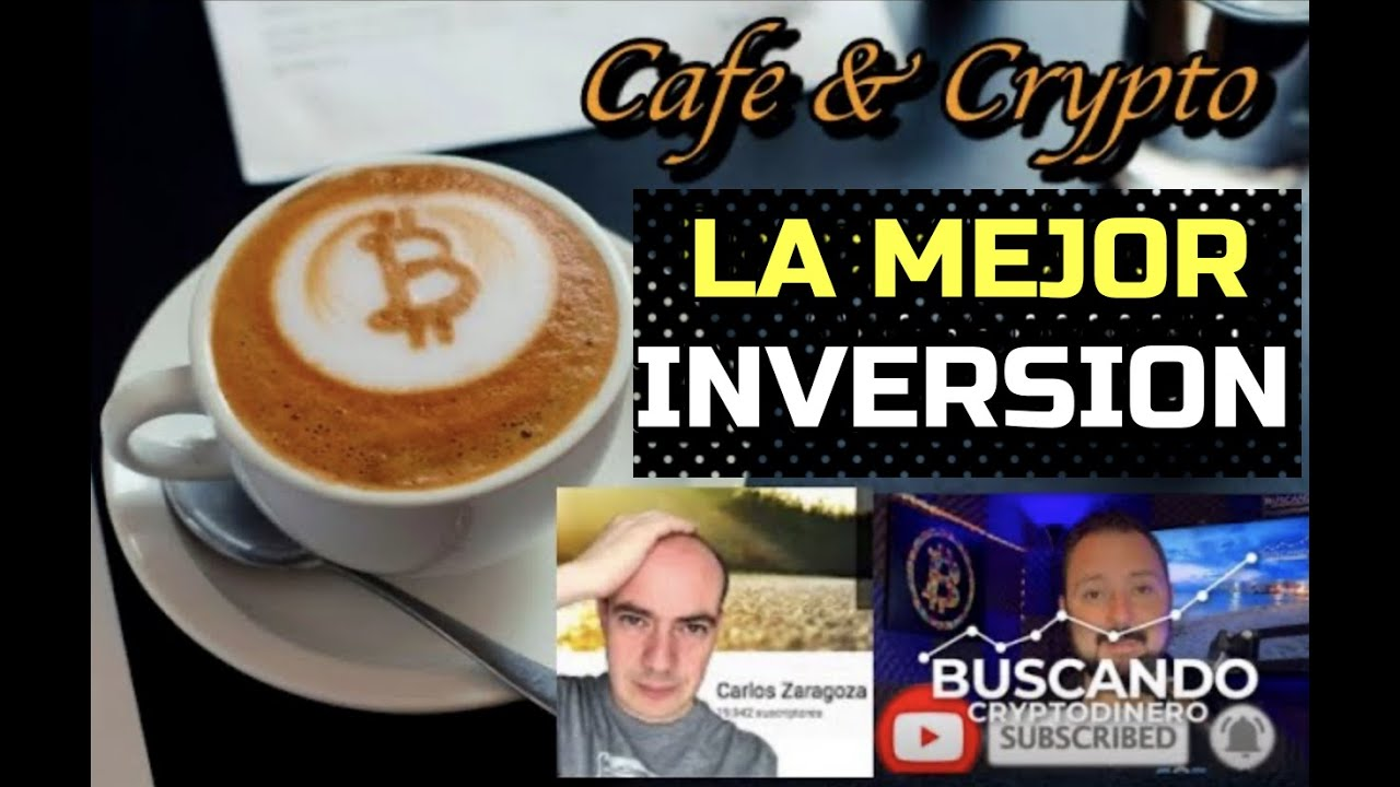"""☕️📎 """"La MEJOR Inversion"""" con Carlos Zaragoza y BCDinero: Cafe y Crypto """"CLIPS"""""""