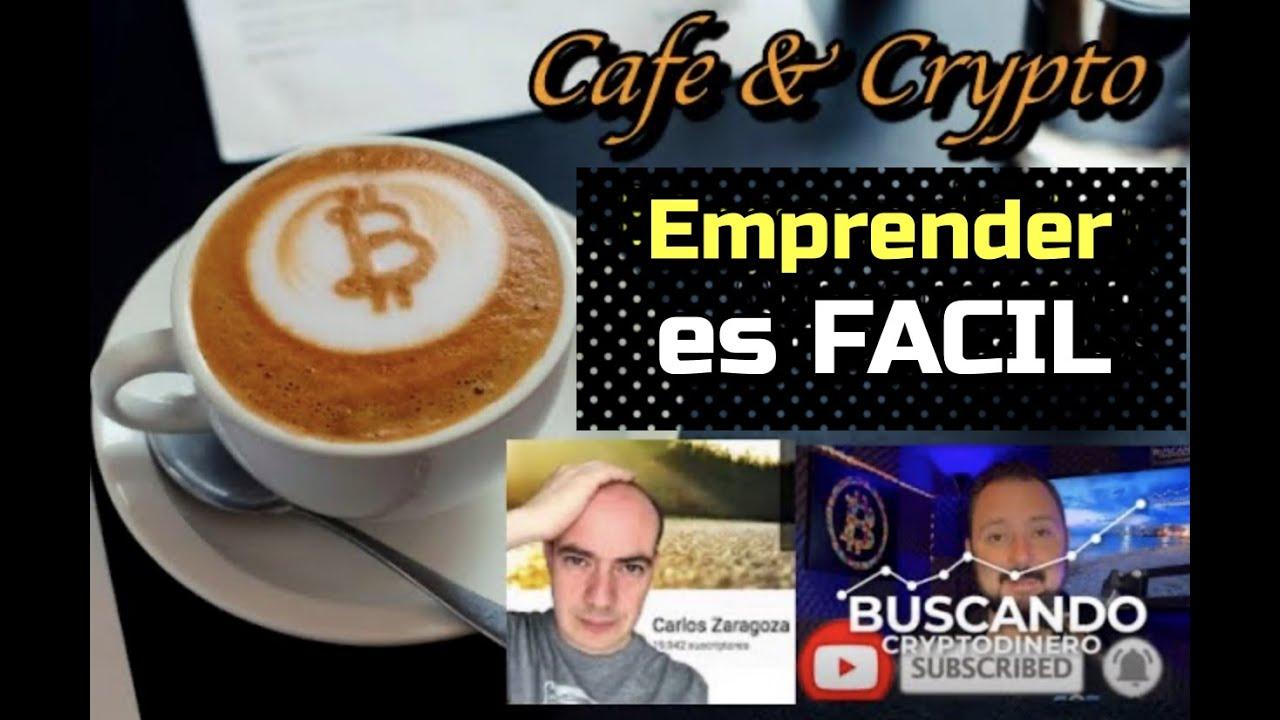"""☕️📎 Emprender es FACIL??? con Carlos Zaragoza y BCDinero: Cafe y Crypto """"CLIPS"""""""