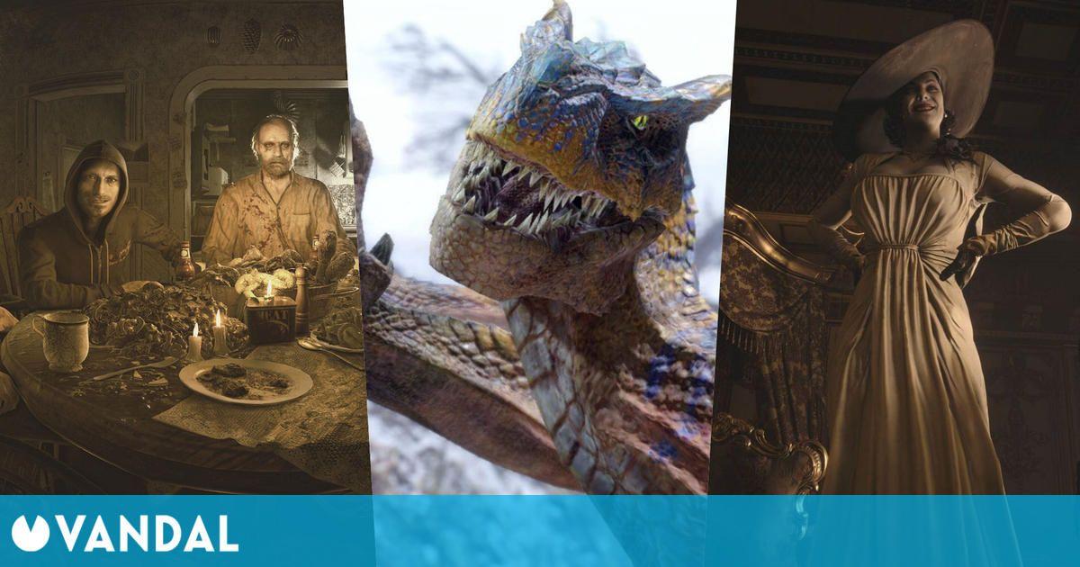 Resident Evil 7, cerca de los 10 millones de ventas y Monster Hunter Rise supera los 7,3