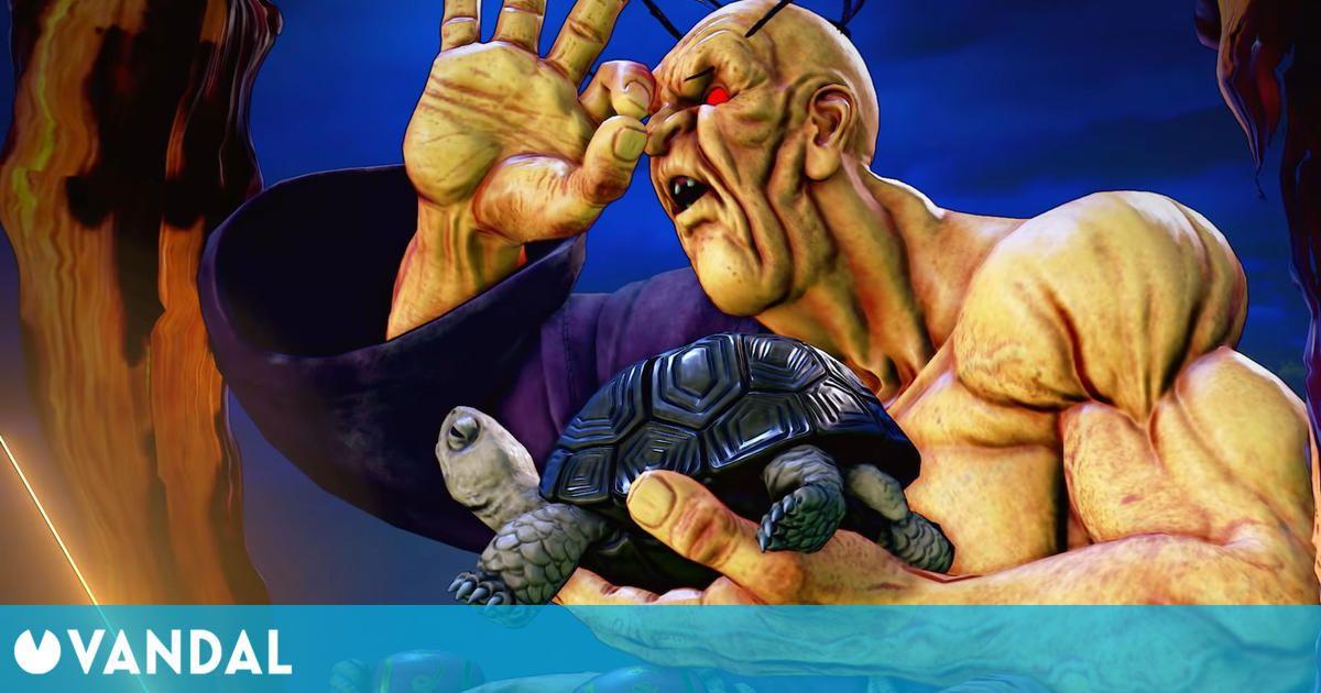 Oro, el nuevo personaje de Street Fighter 5, muestra sus golpes en este tráiler