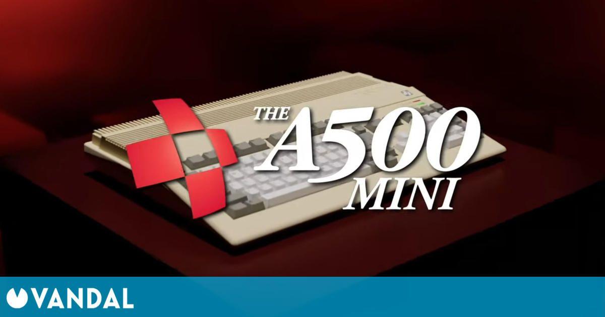 La Amiga 500 tendrá una versión en miniatura en 2022 e incluirá 25 juegos