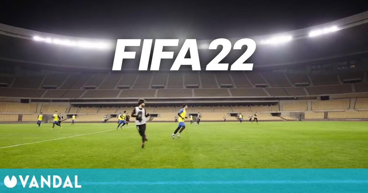 FIFA 22 capturó sus novedosas animaciones en Sevilla enfrentando a dos equipos andaluces