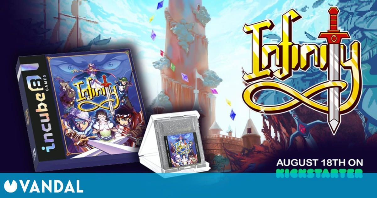 Infinity, el RPG cancelado de Game Boy Color, tendrá una nueva oportunidad por Kickstarter