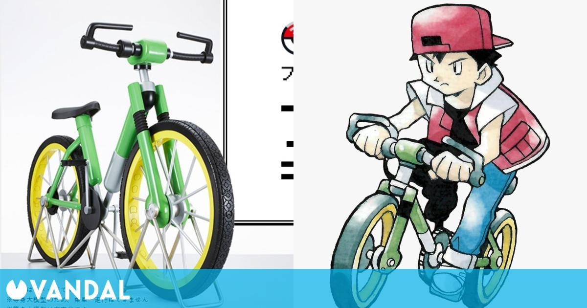 The Pokémon Company hace realidad la bici de un millón de Pokécuartos de Pokémon Rojo y Azul