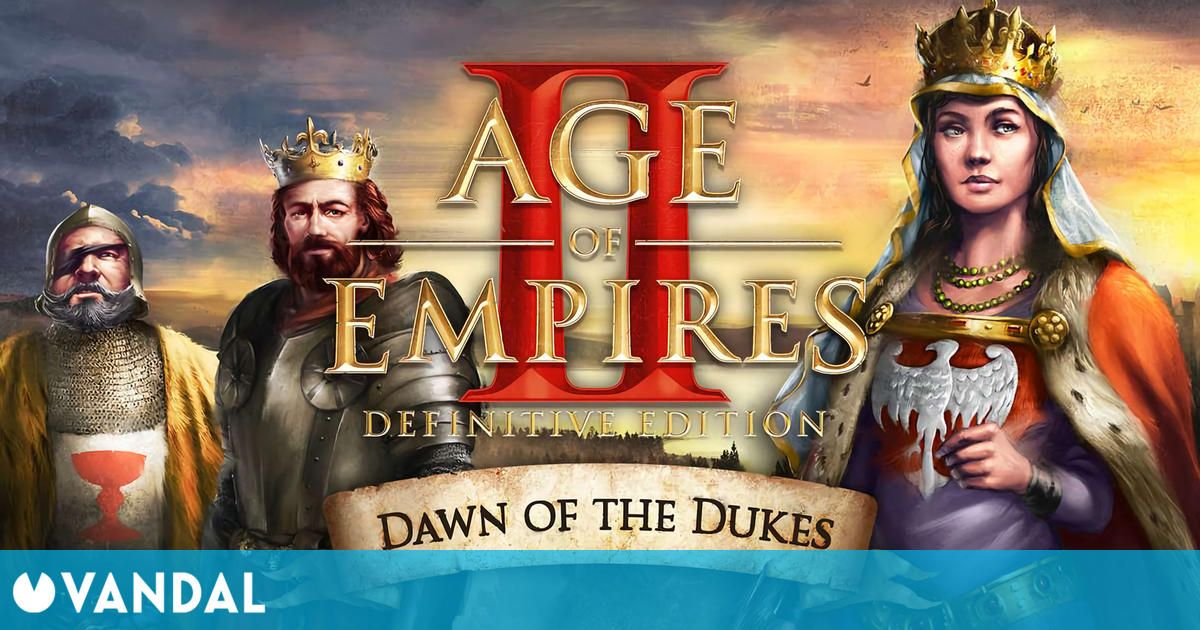 Age of Empires 2: Definitive Edition recibe su segundo DLC, Dawn of the Dukes