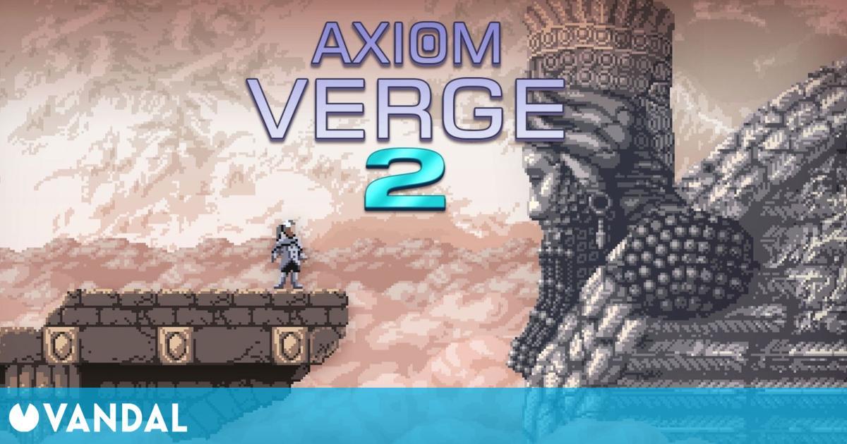 Axiom Verge 2 se lanza hoy por sorpresa en PS4, Switch y PC