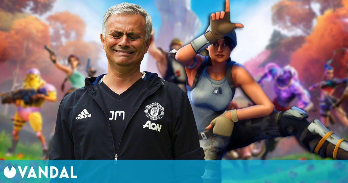 A Mourinho no le gusta Fortnite: 'Los futbolistas se pasan la noche jugando a esa mierda'