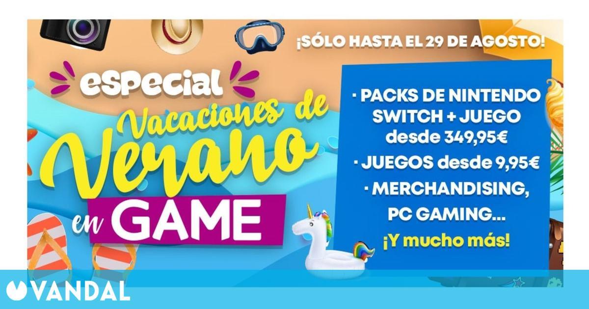 GAME España despliega sus Ofertas de Vacaciones de Verano con múltiples descuentos