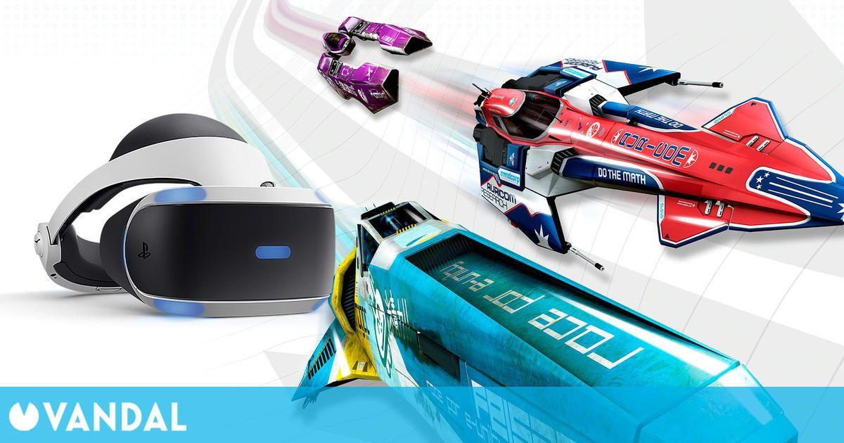 Sony tiene en marcha un Wipeout para PS5 compatible con PS VR 2, según un 'insider'