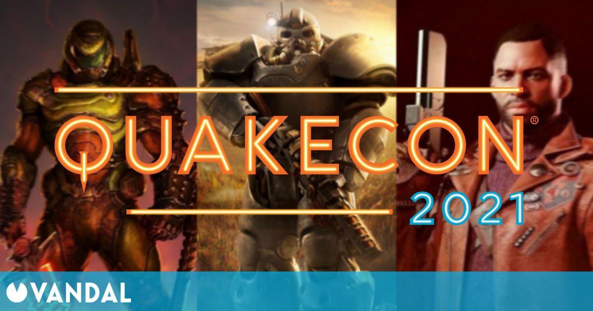 QuakeCon 2021 detalla su programación: Deathloop, Fallout 76 y un concierto de Trivium