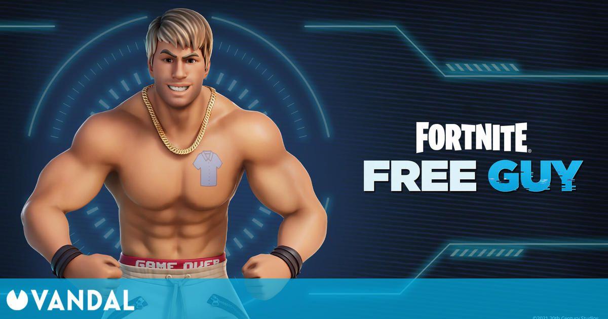 Ryan Reynolds se cuela en Fortnite como promoción de la película Free Guy