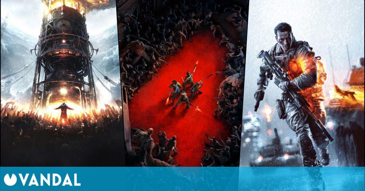 Juegos gratis y ofertas del fin de semana: Frostpunk, Battlefield, Back 4 Blood y más