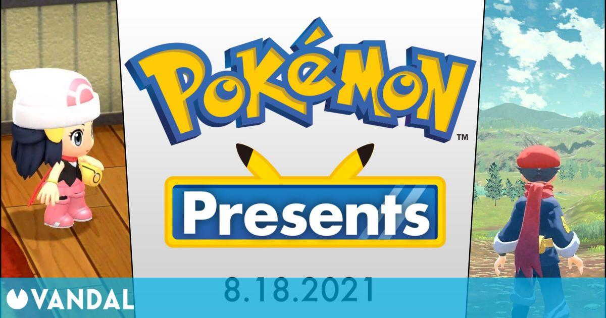 Pokémon Presents: el 18 de agosto sabremos más de Leyendas Arceus y los remakes de Sinnoh