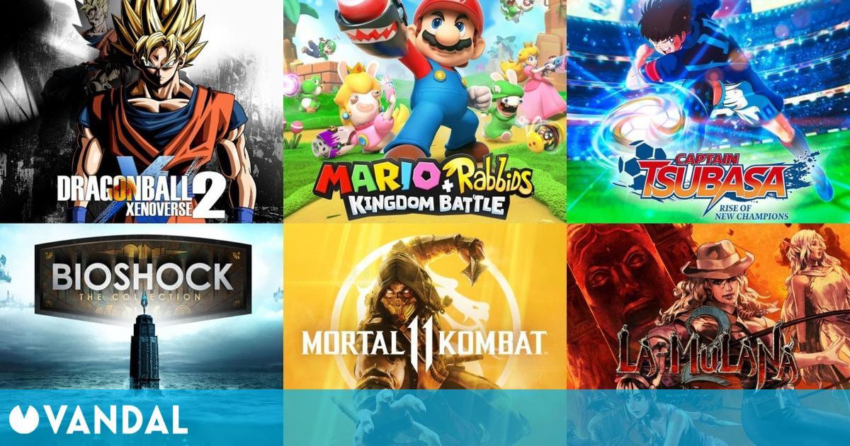 Ofertas Switch: Mortal Kombat 11, Captain Tsubasa, La-Mulana, BioShock y muchos más