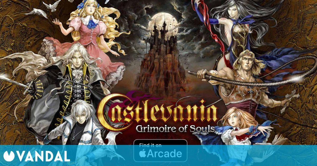 Castlevania: Grimoire of Souls resucitará 'pronto' como exclusiva para Apple Arcade