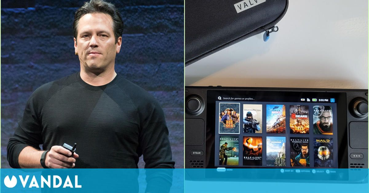 El jefe de Xbox ha probado Steam Deck: 'xCloud funciona bien'