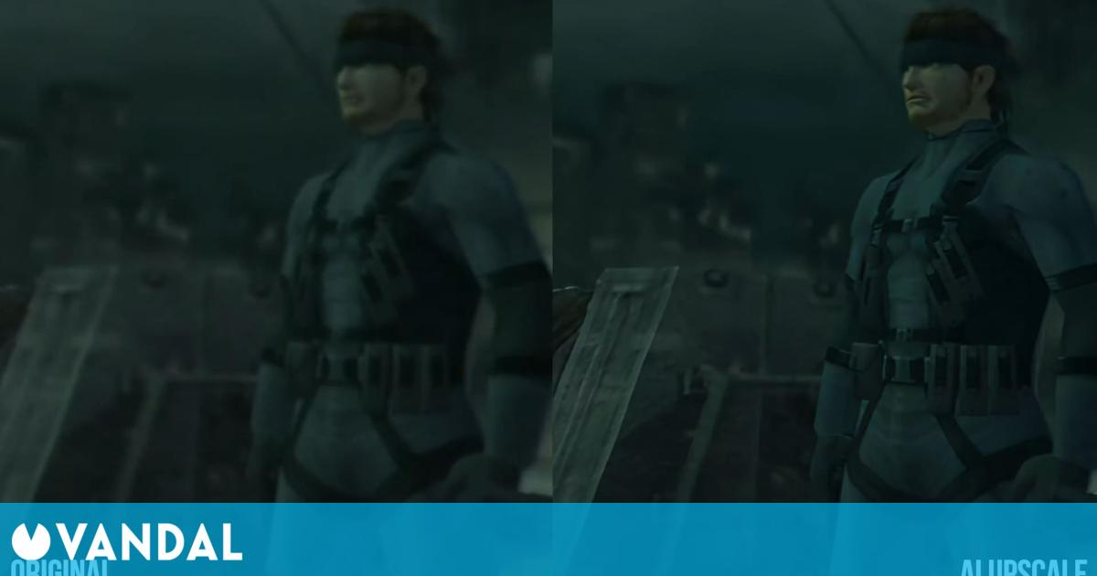 Remasterizan en 4K el mítico tráiler de Metal Gear Solid 2: Sons of Liberty