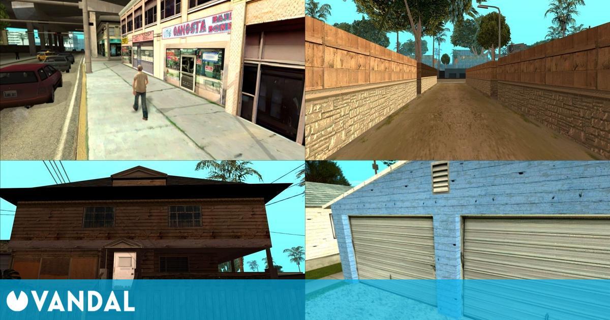 Un mod mejora las texturas de GTA San Andreas en PC gracias a la inteligencia articial