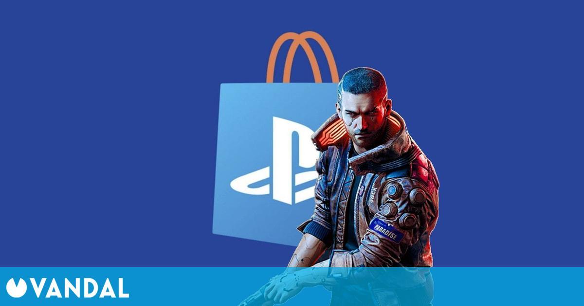 Cyberpunk 2077 deja la lista de los más vendidos de PS Store, tras ocupar el número 1