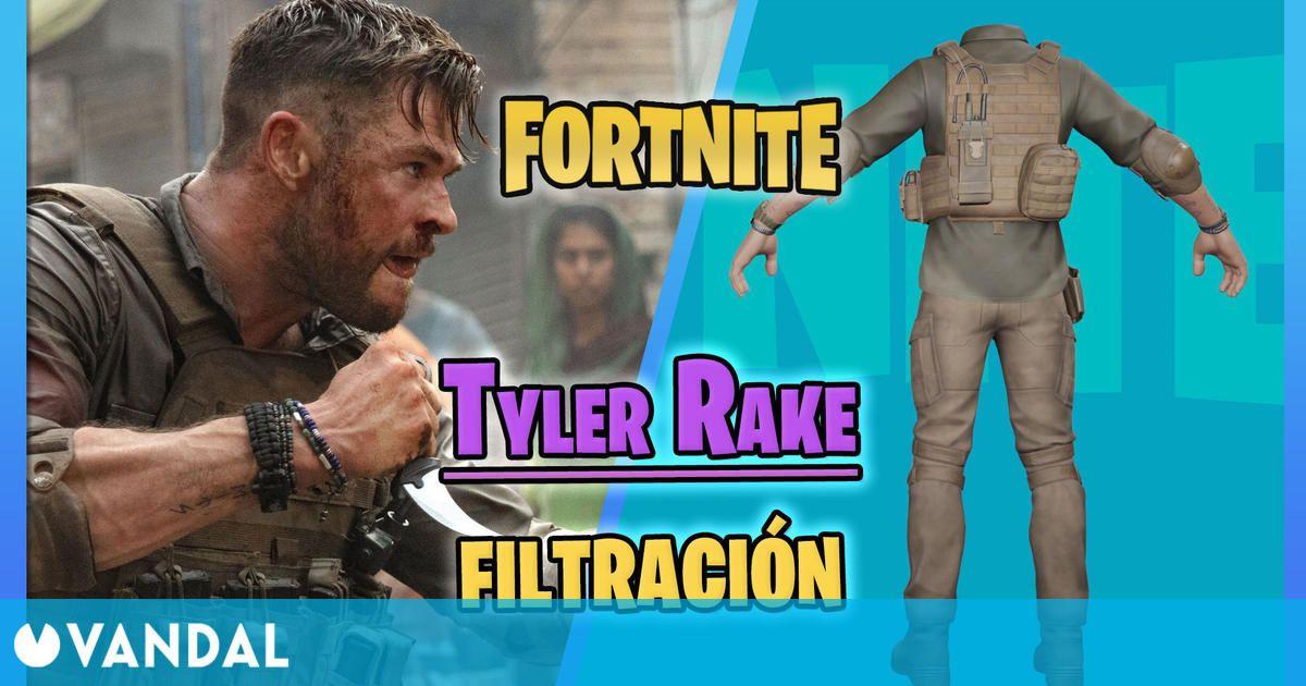 Tyler Rake filtrado en Fortnite: ¿Chris Hemsworth llegará próximamente?