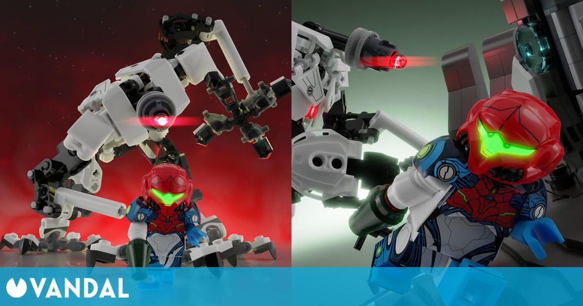 Metroid Dread podría recibir su propio set de LEGO si recibe el apoyo suficiente