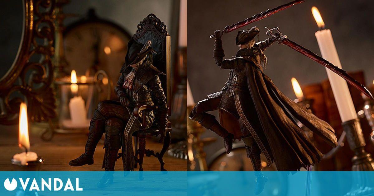 Bloodborne recibe esta espectacular figura de Lady María de la torre del Reloj Astral