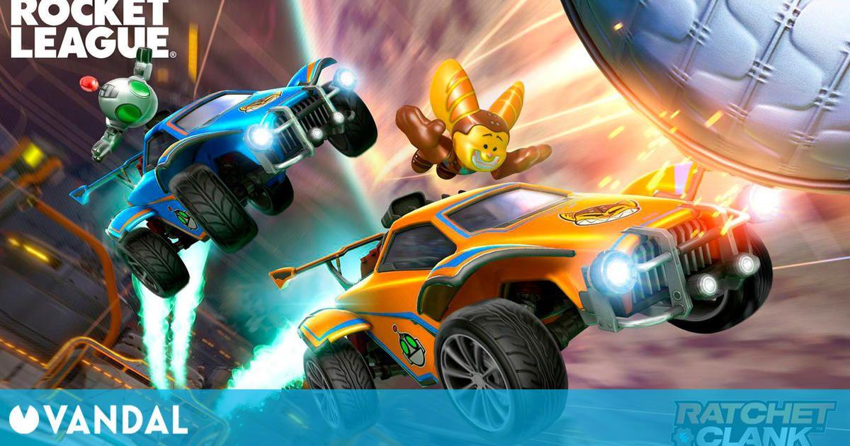 Rocket League estrena versión de PS5 y lo celebra con un pack gratuito de Ratchet and Clank